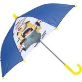 Детский зонтик трость с Миньонами для мальчика, в наличии - дешево