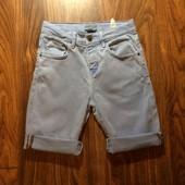 Джинсовые шорты Zara на 7-8 л