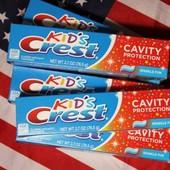 Детская зубная паста Crest Kid's