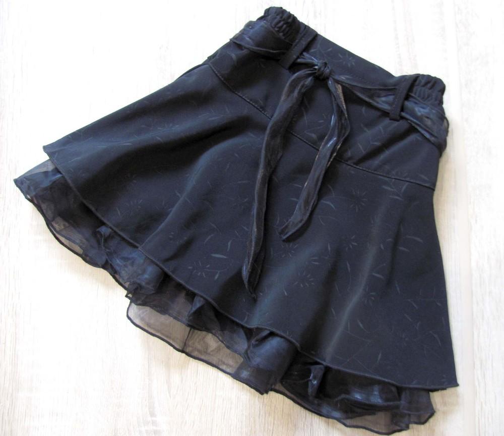 Распродажа! школьная форма - юбка детская чёрная р.38 фото №1