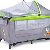 Манеж кровать Caretero Grande Plus Бесплатная доставка!