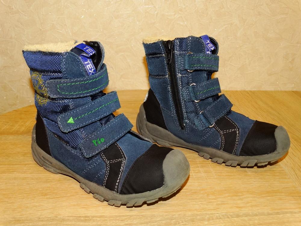 Р.29 мембранные термо ботинки pio-tex 19 см. по стельке. фото №1