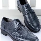 Классические мужские туфли - полированная кожа BFG Moda.shoes- 009. фирменная Турция
