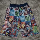 пляжные шорты мальчику Rebel на 9-10 лет рост 134-140 см