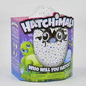Интерактивная игрушка hg 706 Hatchimals 24 Яйцо Хетчималс дракоша-пингвин 2 вида Длина 20 с
