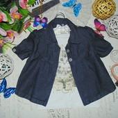 9-10лет.Моднячий джинсовый жакет.Мега выбор