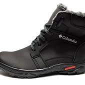 Ботинки зимние мужские, прошитые - Львовская фабрика (МК-02-П)