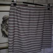 Mango Жакардовая тонкая супер стильная юбочка р М сток