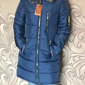 Новинка зимы 2018-2019 г! Зимняя куртка Love, много расцветок.