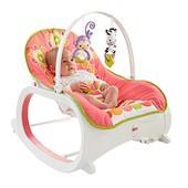 Шезлонг-кресло-качалка с вибрацией Цветочные конфетти Fisher Price