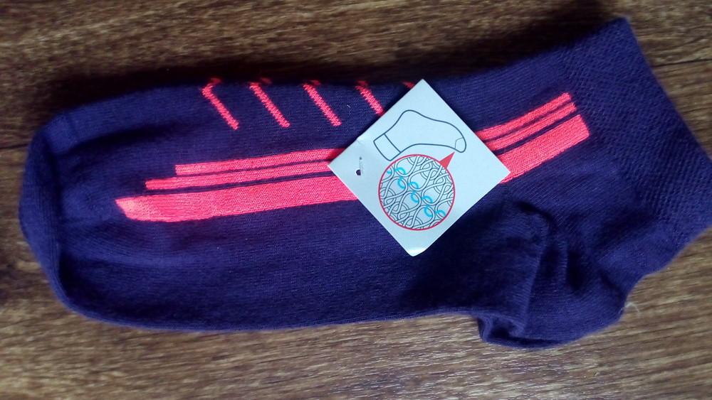 39 42 спортивные короткие носки tchibo германия фото №1