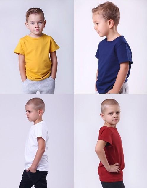 Хлопковая футболка для мальчика. фото №1