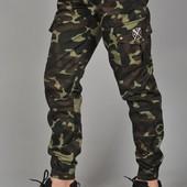 Мужские камуфляжные штаны карго