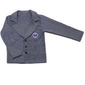 Пиджак школьный для мальчика, рост 98-134
