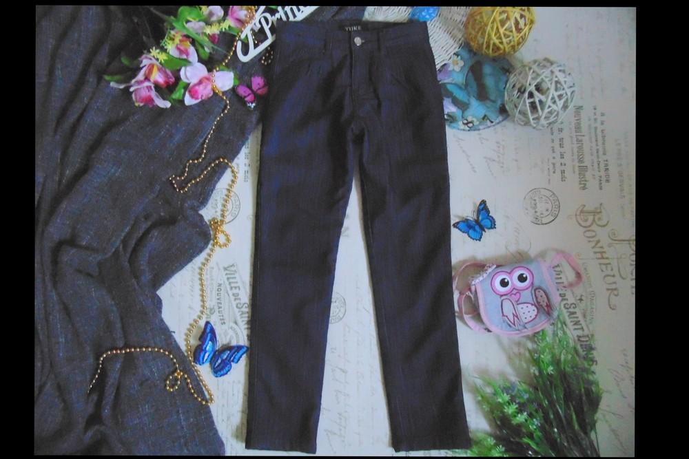 8лет.моднячие джинсы на флисе yuke.мега выбор обуви и одежды!. фото №1