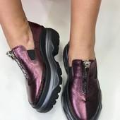 Туфли броги в стиле Balenciaga, es-1106-2