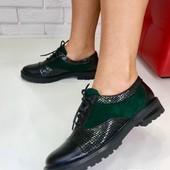 Туфли Оксфорты, es-1055-6