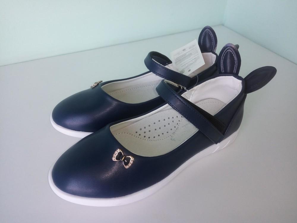 Туфли школьные с ушками фото №1