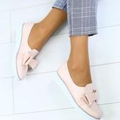 Женские туфли из натуральной кожи, код ks-3146