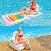 Пляжное надувное кресло-трансформер Intex 58847