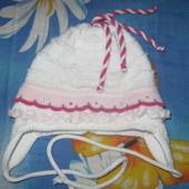 шапочка деми размер 44-46 на 2-4 года + колготки хб Легка хода на 2-4 года