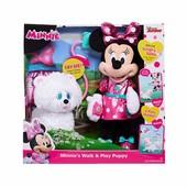 Минни Маус с щенком  Minnie Mouse disney