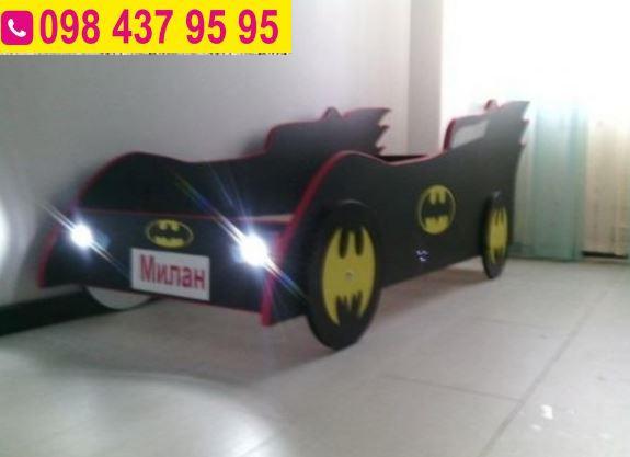 Детская кроватка бэтман. фото №1