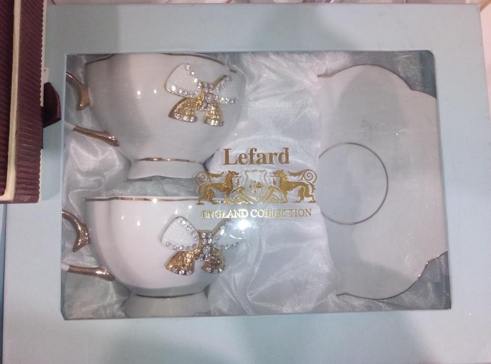 Фарфоровый чайный набор на 2 персоны фото №1