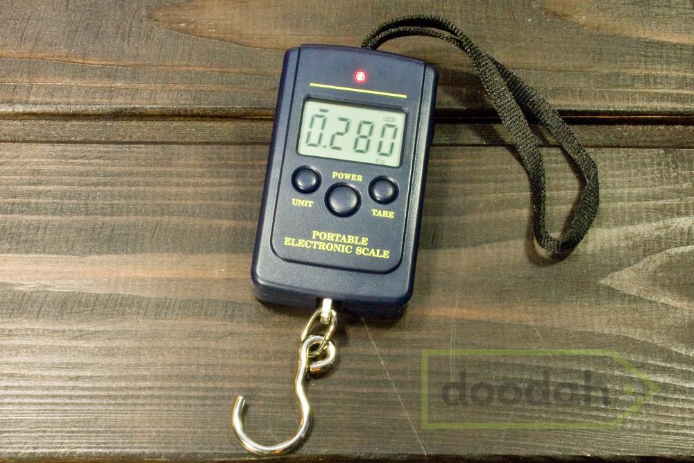Весы цифровые с крюком, карманные (кантер электронный) weps-40 фото №1