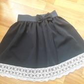 """Школьная юбка """"Бантик"""" для девочки"""