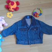 """Джинсовая куртка """"Jasper Conran"""" в отл. состоянии на возраст 3- 6 мес."""