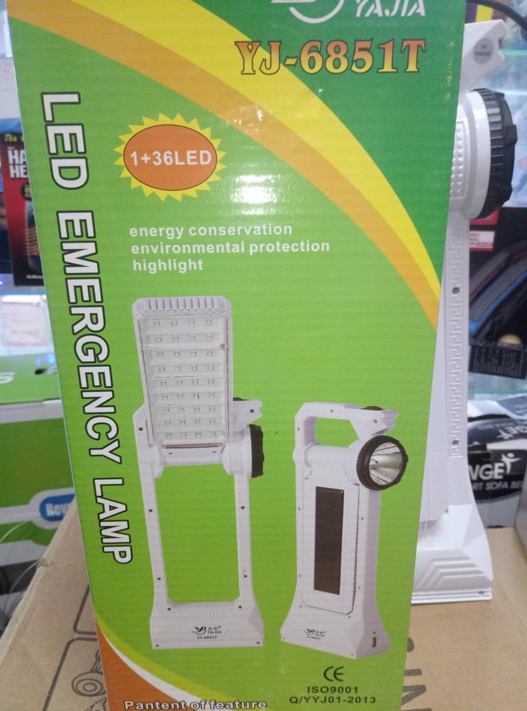 Аккумуляторный многофункциональный  фонарь на 36 лед лап фото №1