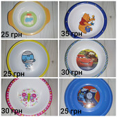 Детские тарелки для деток тарелочки глубокиедля малышей