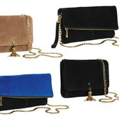 сумочки и клатчи Германия премиум коллекция от Esmara 100% натуральная кожа