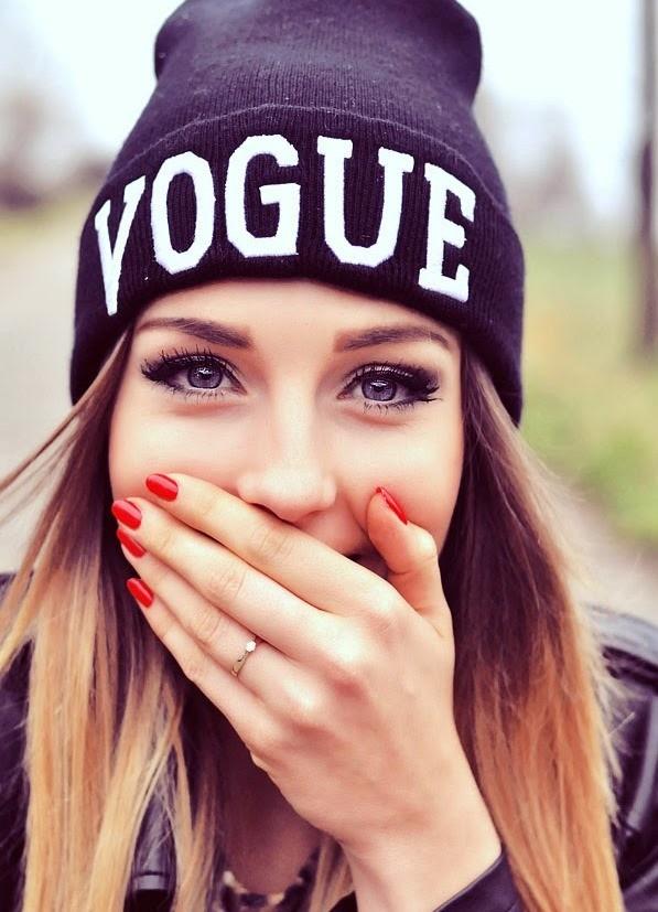 13-2 мега-крутая стильная модная шапка vogue фото №1