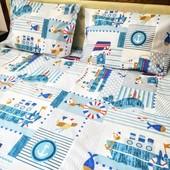 Подарочный набор для детской кроватки! Морская тематика!