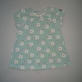 Мятное платье на 2-6 месяцев Polarn o.pyret