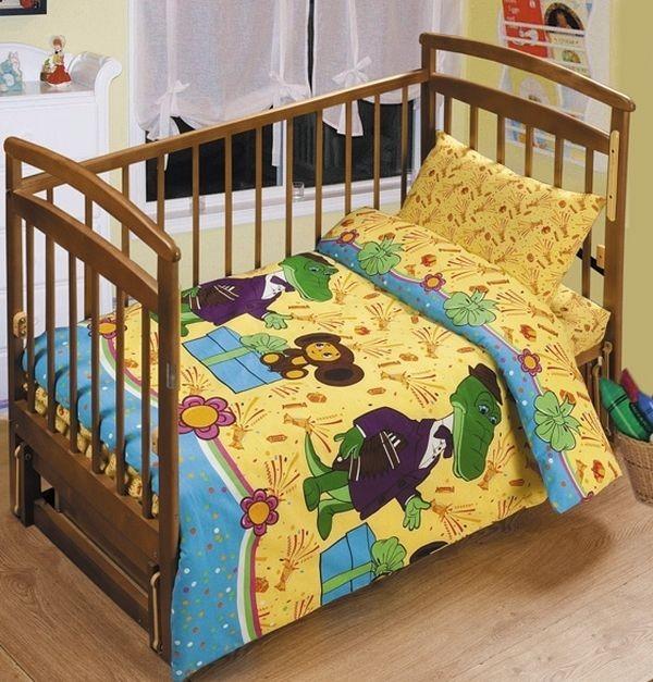 Комплект в детскую кроватку тм непоседа фото №1