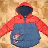 крутая деми куртка George 1-1,5 года (можно до 2 лет) как новая!