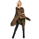 Теплое,стильное и уютное пончо Esmara Коллекция Хайди Клум