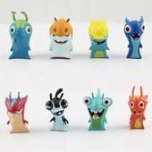 Набор игрушечных фигурок Слагтерра ( Slugterra ) 8 шт