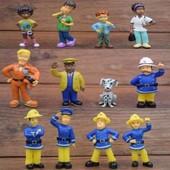 Игрушки Пожарный Сэм, Сем, 12 шт