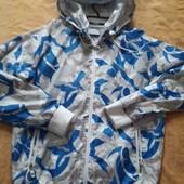 Куртка ветровка фирменная Fly53 р.48 L