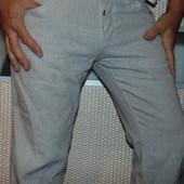 Стильние брендовие брюки лен. Seven (Севен) сша .л.34 .