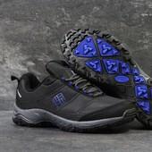 Ботинки мужские термо Columbia black/blue