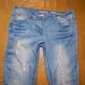 2XS-XS, поб 42-44, узкачи! рванки! джинсы скинни F&F очень красивые
