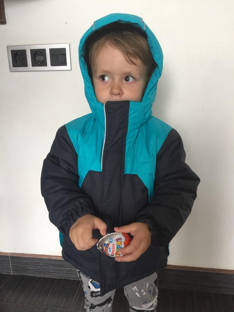 -30*с термо комбинезон зимний janda для мальчика, раздельный, термо, аналог lenne, columbia, reima фото №4