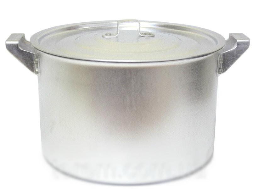 Кастрюля алюминиевая цилиндрическая 4,5л китай-алюминий фото №1