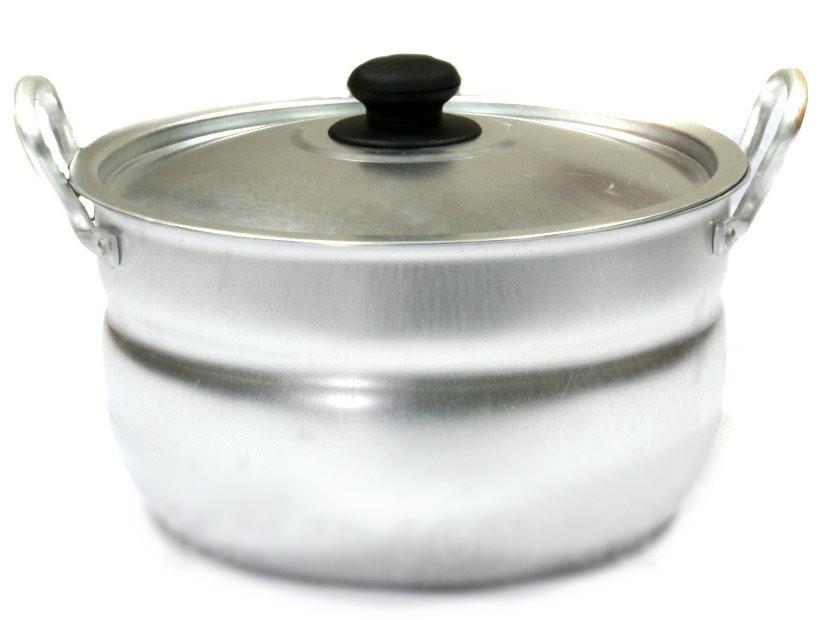 Кастрюля алюминиевая сферическая 8л китай-алюминий фото №1