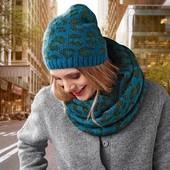Шикарный комплект, шапка и шарф снуд Тсм Tchibo.